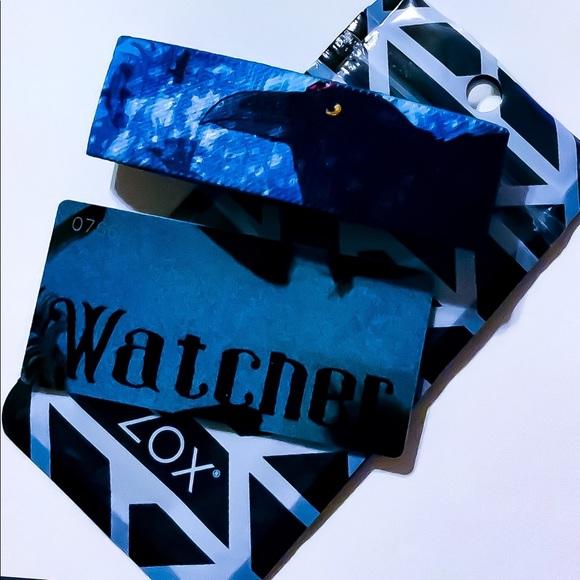 ZOX Jewelry - ZOX Strap Wristband & Card - Watcher  * Crow